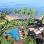 ekahi Ocean Front pool & Keawakapu beach entrance