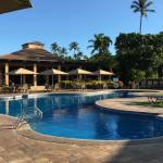 ocean front pool & pavilion