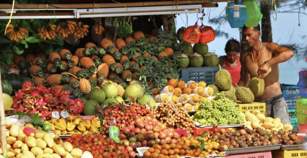 Patong Fruit Market
