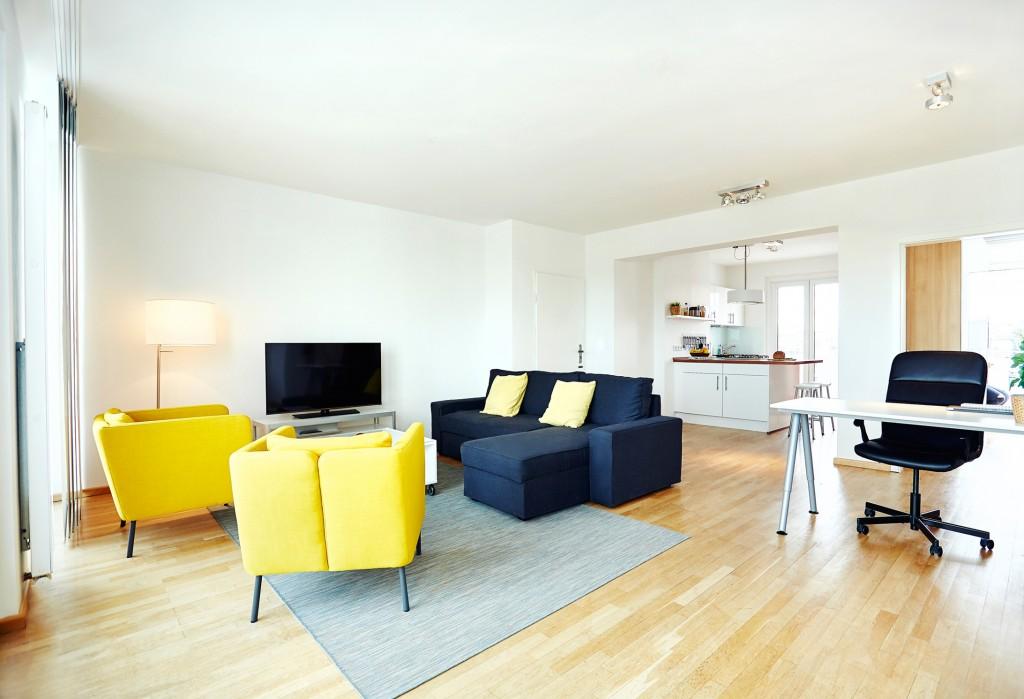 Cozy Ebertplatz Penthouse